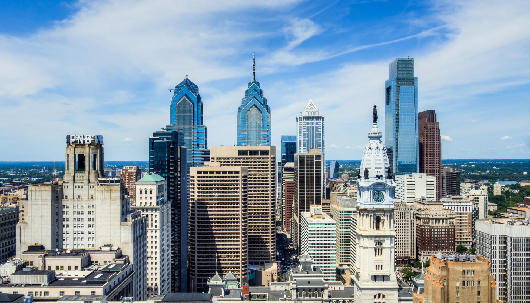 Autonvuokraukset Philadelphia lentokenttä