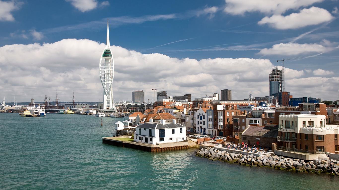Alquiler de autos en Portsmouth