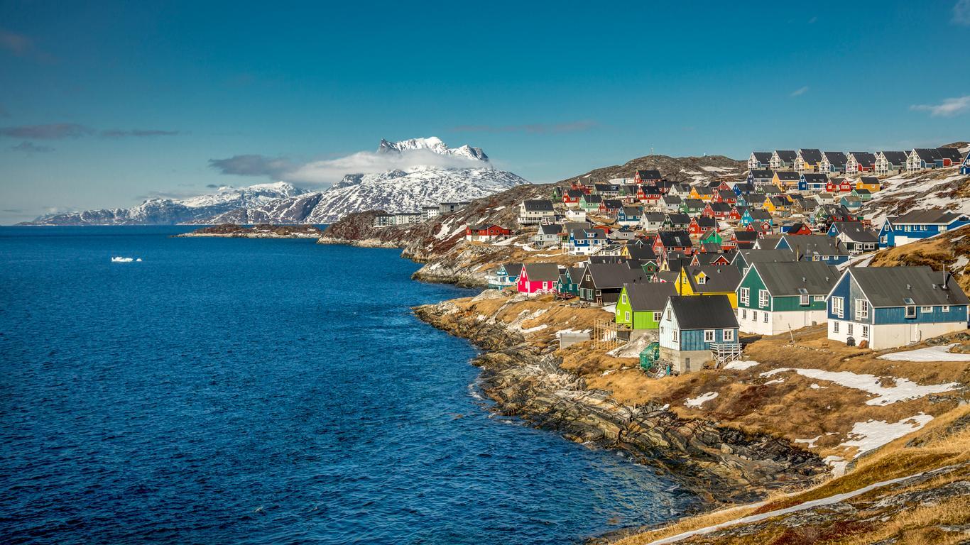 Hyrbilar på Nuuk (Godthåb) flygplats