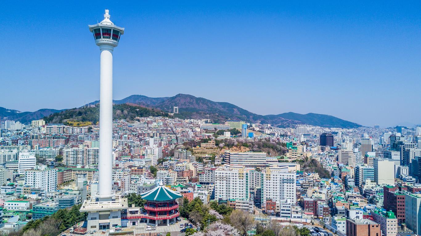 Hyrbilar på Pusan Gimhae flygplats
