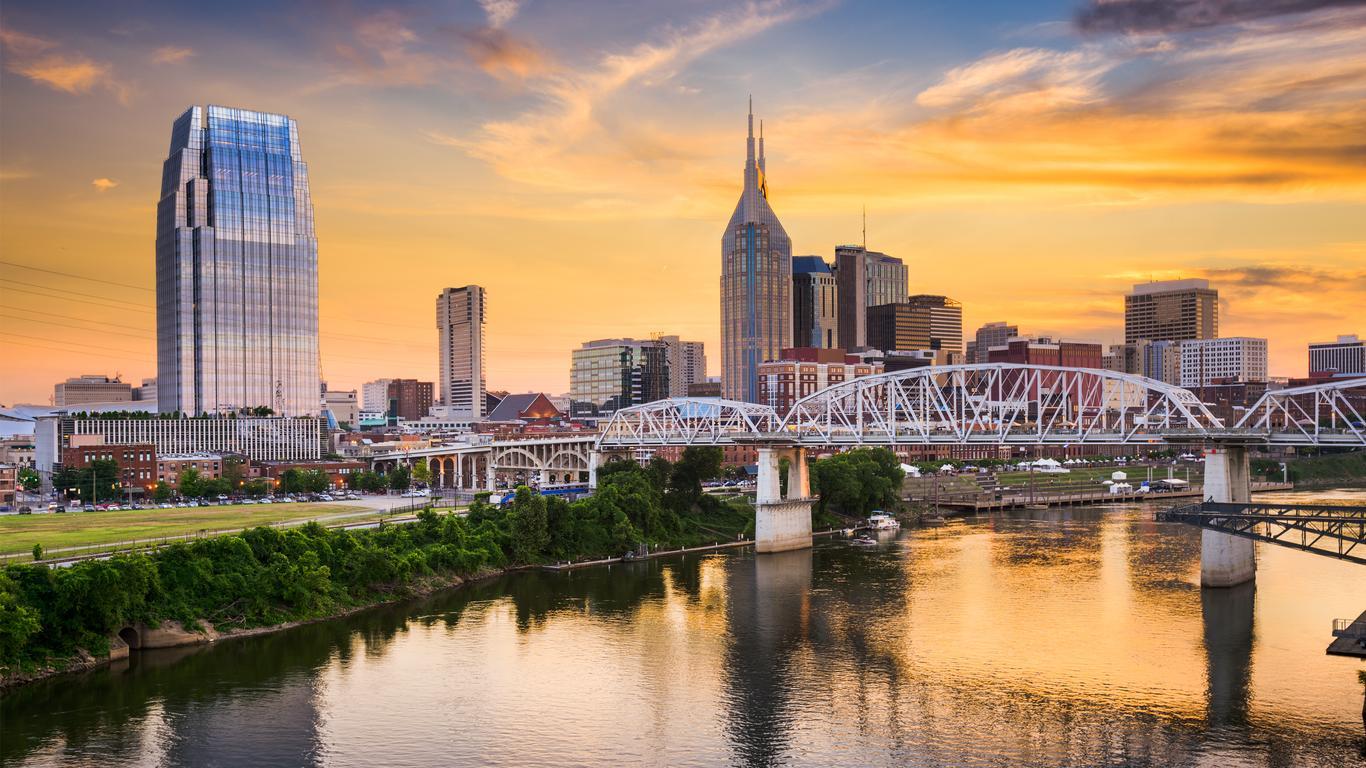 Coches de alquiler en Nashville