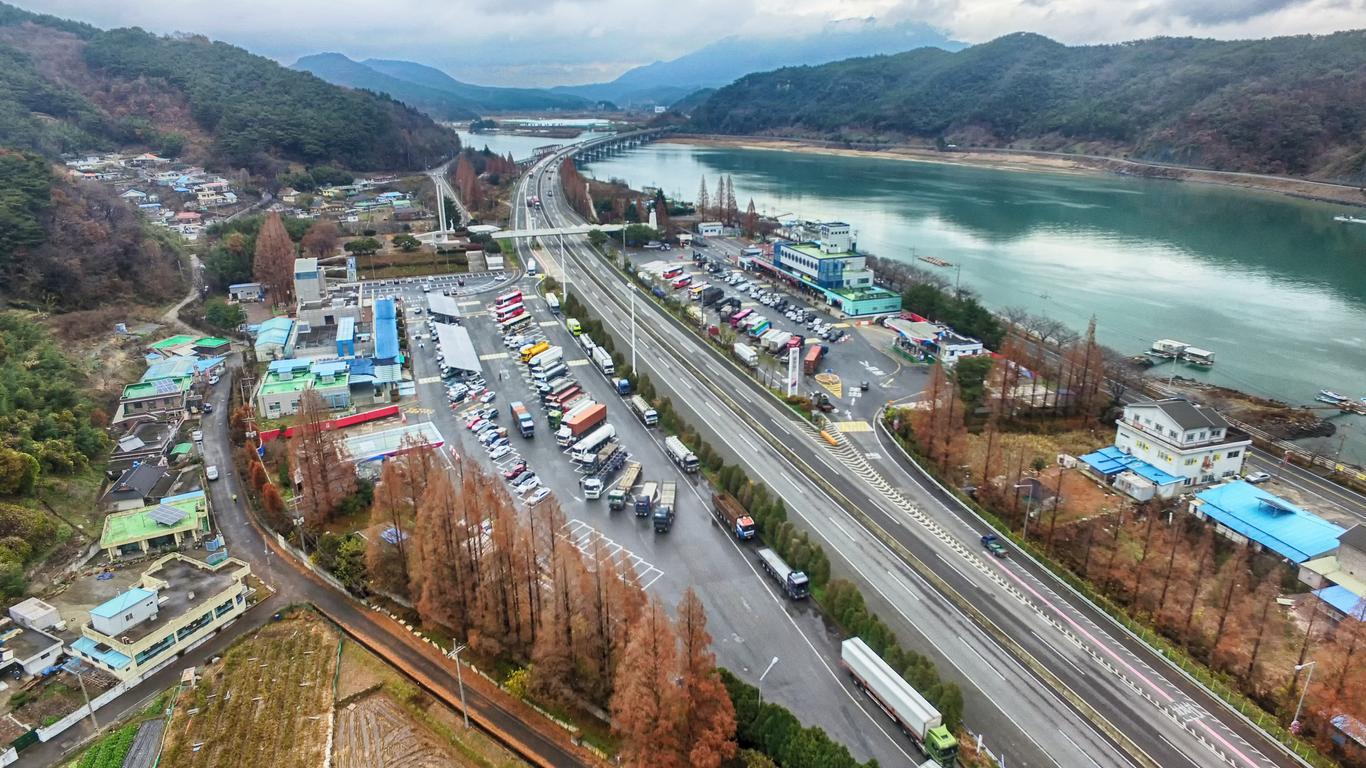 Gwangyang autoverhuur
