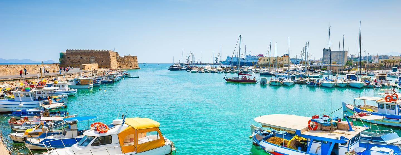 Παραθαλάσσια ξενοδοχεία σε Ηράκλειο
