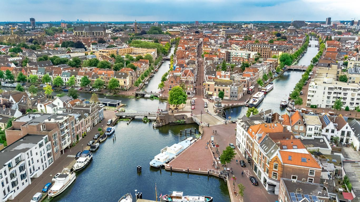 Alquiler de autos en Leiden