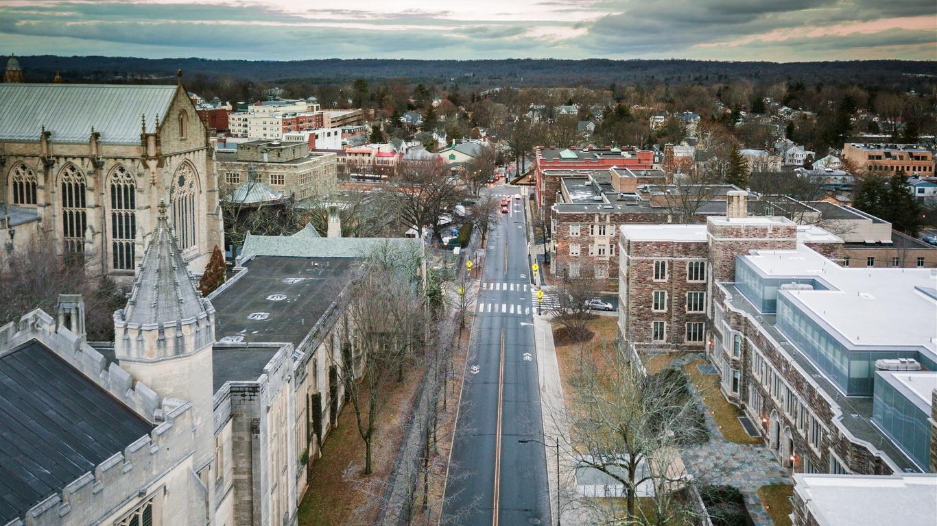 Alquiler de autos en Princeton