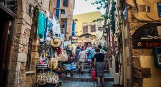 La Canée:histoires de rue, visite à pied de 4h