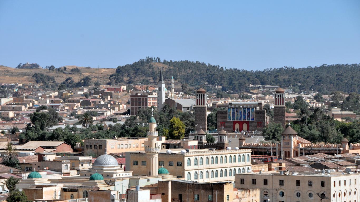 Pronájem aut Asmara