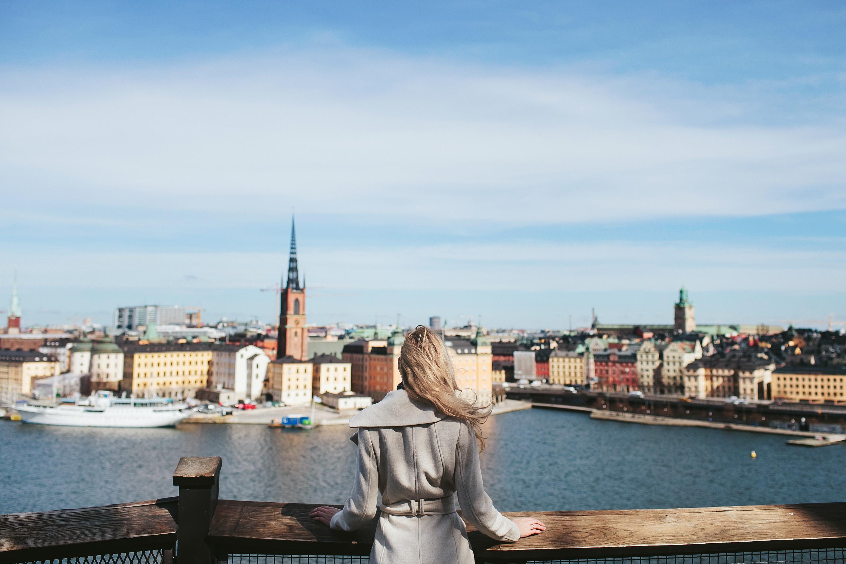 fly fra aalborg til stockholm