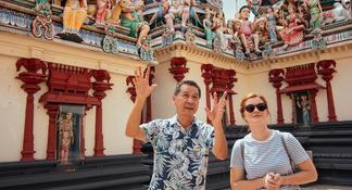 Singapour: visite guidée à pied des origines de la ville et de l'histoire
