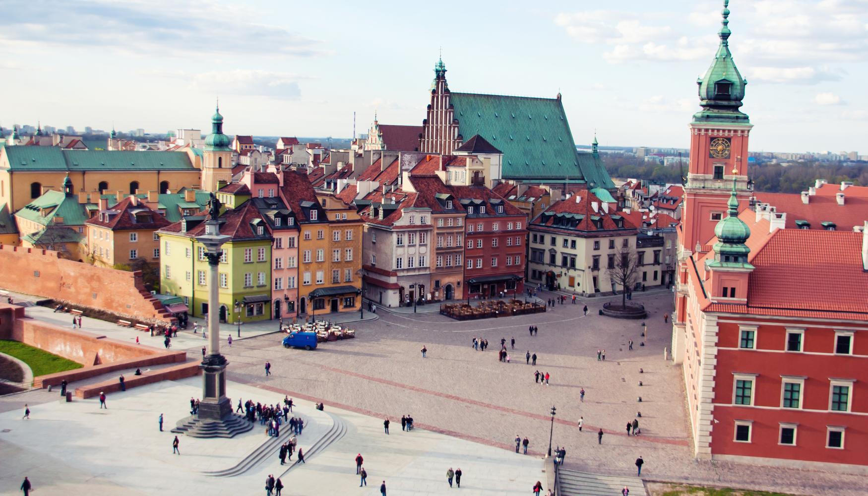 Alquiler de coches en Aeropuerto Varsovia-Chopin