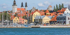 Hyrbil i Visby