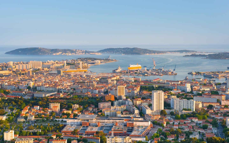 Hôtels à Toulon