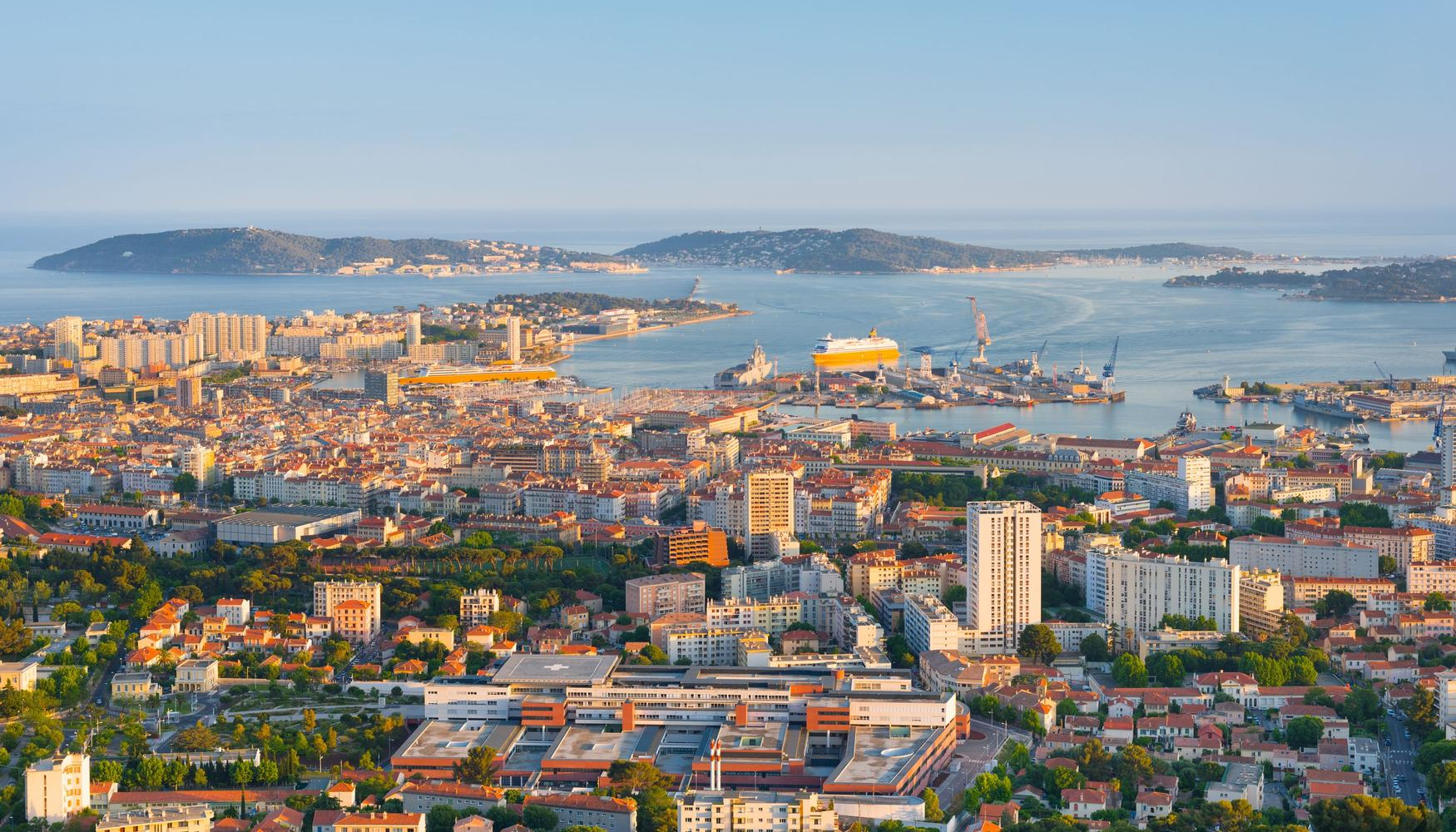 Car hire at Toulon Hyeres Airport