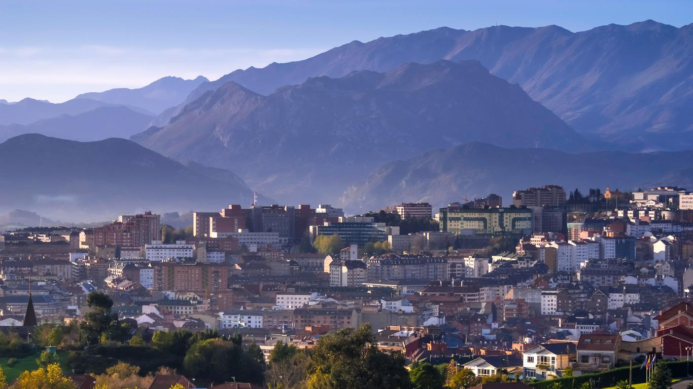 Coches de alquiler en Oviedo