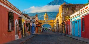 Hyrbil i Antigua Guatemala