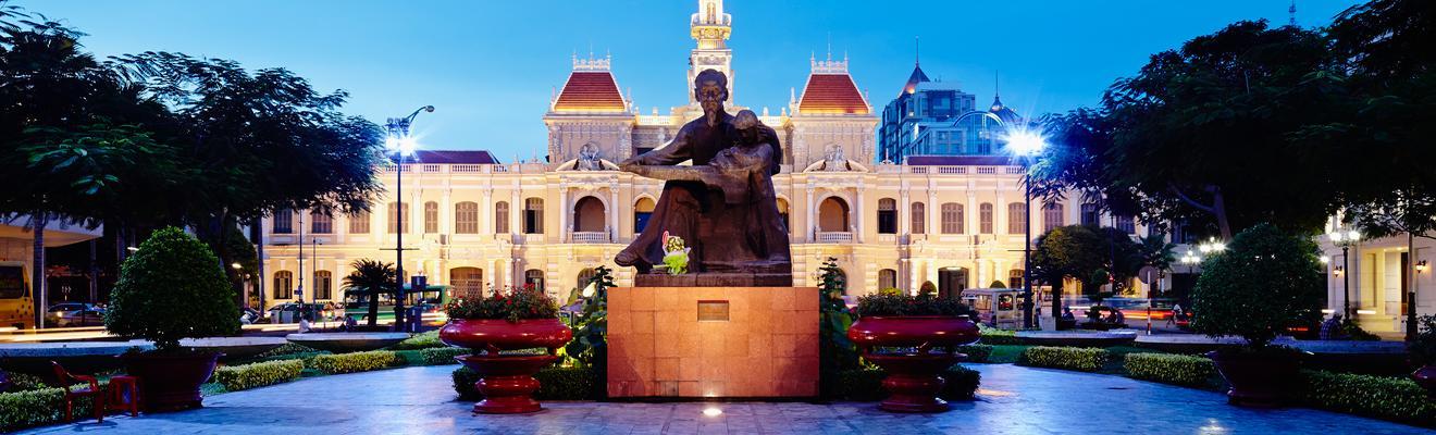 Ho Chi Minhin kaupunki hotellia