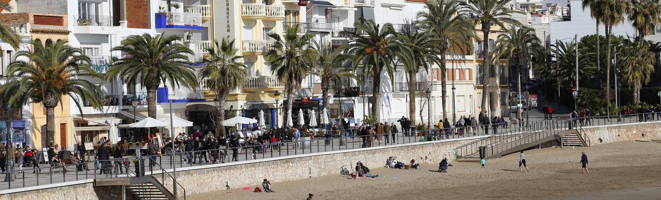 Ξενοδοχεία στην πόλη Sitges