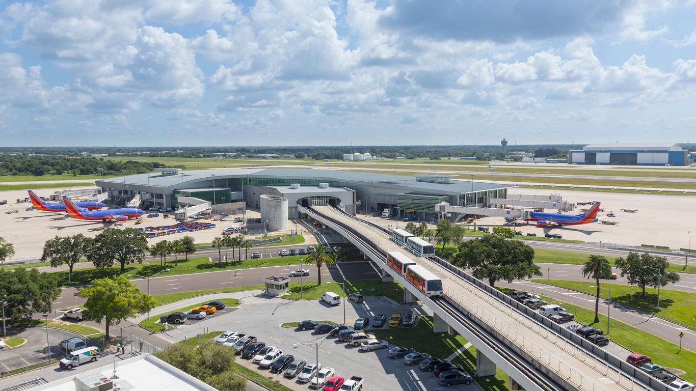 Car hire at Tampa Airport