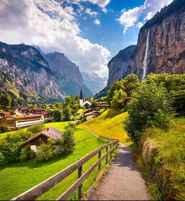 Ξενοδοχεία στην πόλη Lauterbrunnen