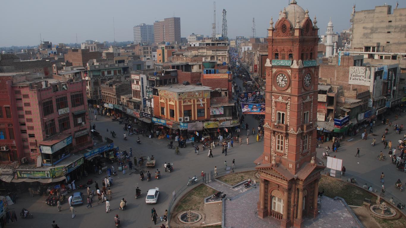 Faisalabad autoverhuur
