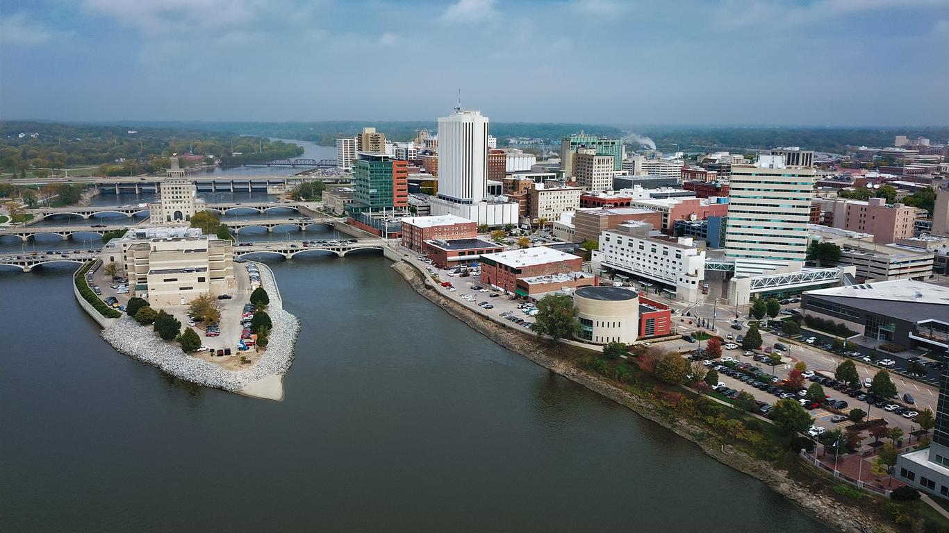 Cedar Rapids - Ενοικίαση αυτοκινήτου