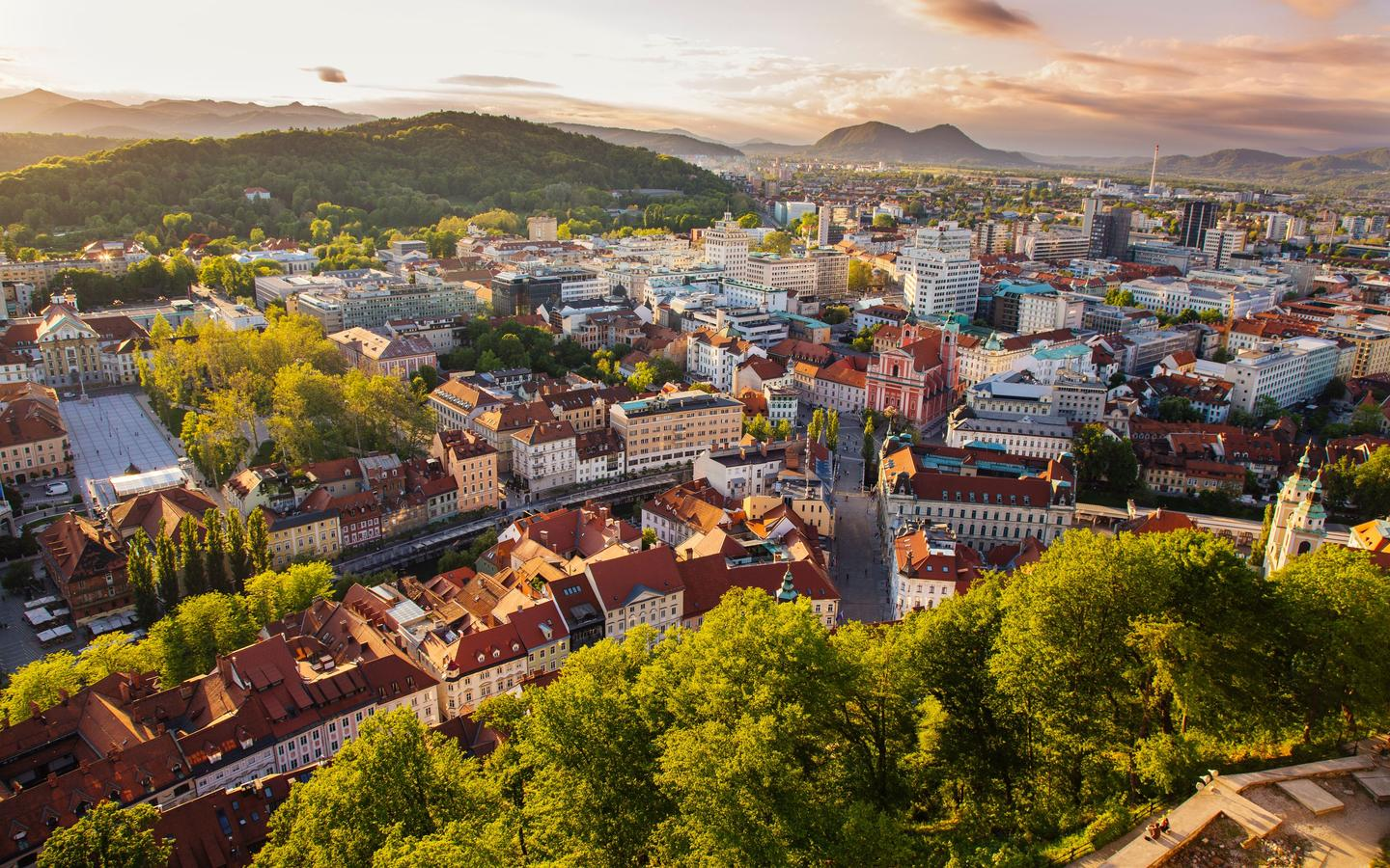 Hotels in Ljubljana