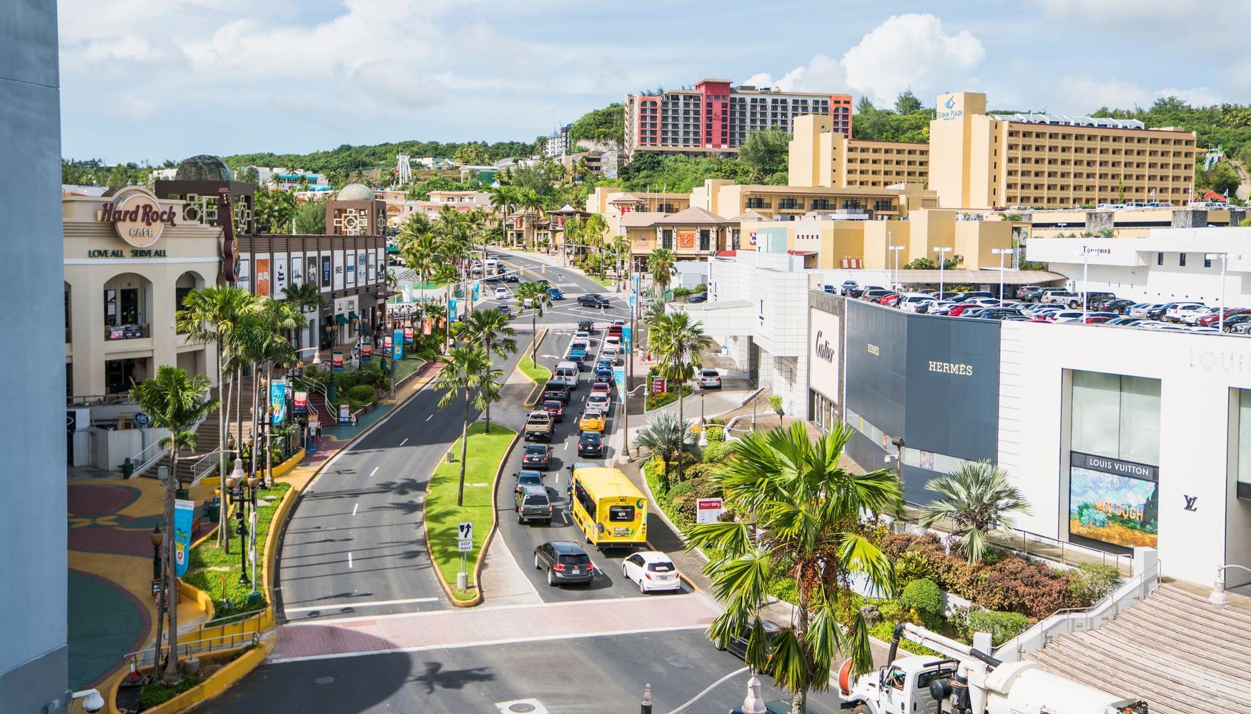 Autonvuokraukset Tamuning Guam Intl lentokenttä