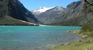 Viagem diurna ao Lago Llanganuco saindo de Huaraz