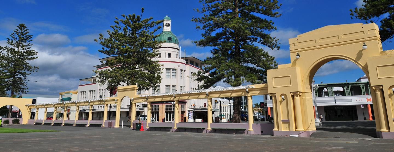Autonvuokraukset Napier Hawkes Bay lentokenttä