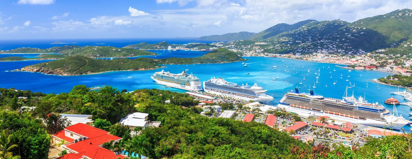 Huurauto's op Luchthaven Saint Thomas Island Cyril E King