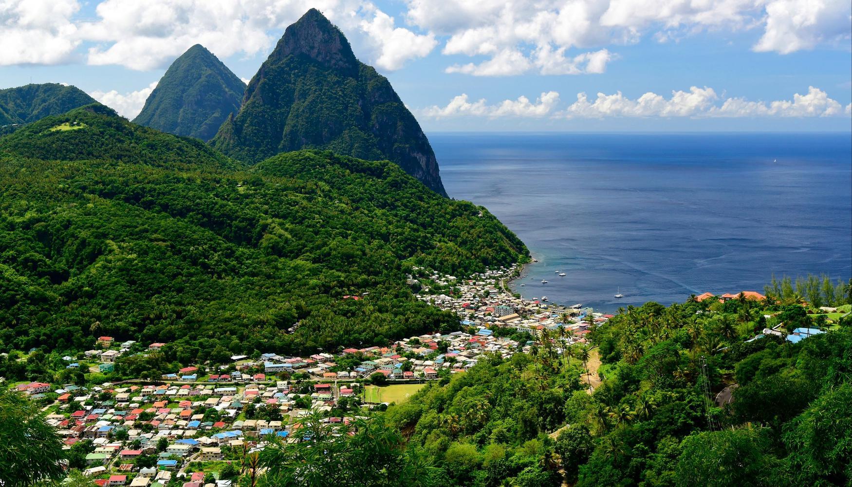 Biludlejning i Saint Lucia