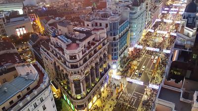 Madrid hotellia