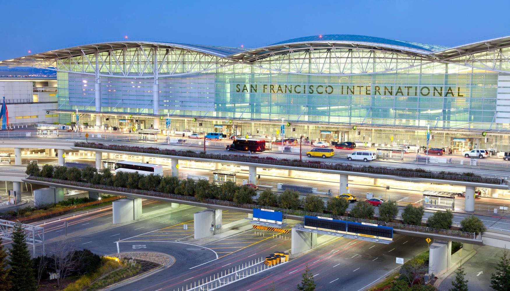 Aluguel de carro em Aeroporto de San Francisco