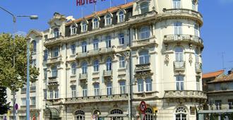 Hotel Astoria - โกอิมบรา - อาคาร