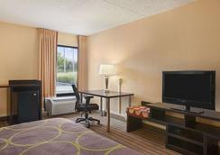 Super 8 by Wyndham Mount Laurel - Mount Laurel - Phòng ngủ