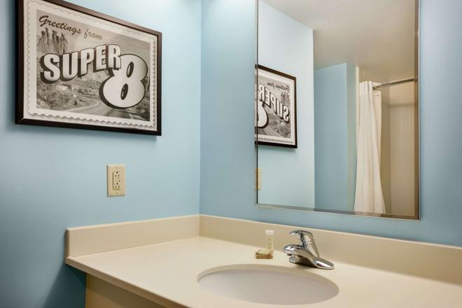 Super 8 by Wyndham Mount Laurel - Mount Laurel - Salle de bain