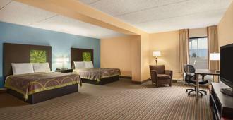 Super 8 by Wyndham Mount Laurel - Mount Laurel - Bedroom