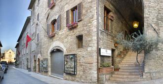 Hotel Properzio - Assisi - Gebäude