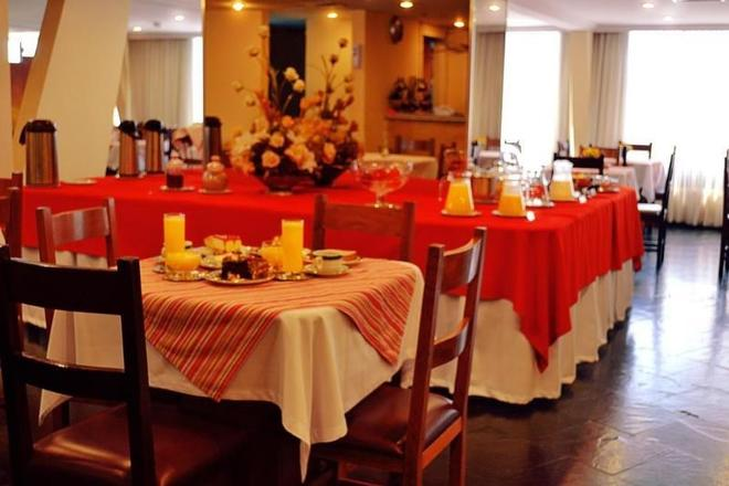 Hotel Manduara - Asuncion - Dining room