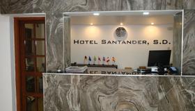 Hotel Santander SD - Santo Domingo - Recepción