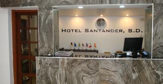 Hotel Santander SD - סנטו דומינגו - דלפק קבלה
