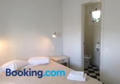 Rosebay Hotel - Kamari - Phòng ngủ