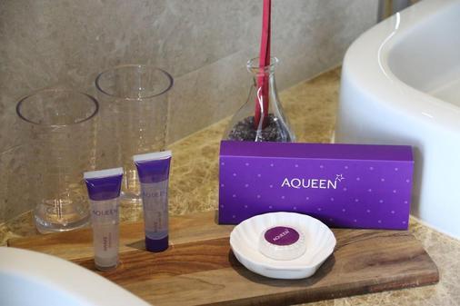 Aqueen Hotel Paya Lebar - Singapur - Comida
