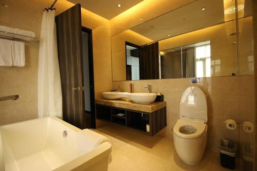Aqueen Hotel Paya Lebar - Singapur - Baño