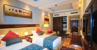 Rose Park Hotel Al Barsha - Dubai - Bedroom