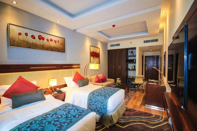 Rose Park Hotel Al Barsha - Dubai - Phòng ngủ
