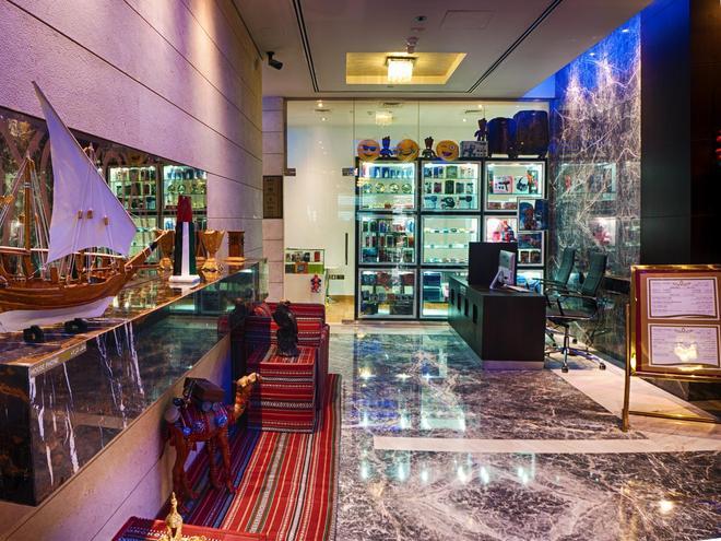 Rose Park Hotel Al Barsha - Dubai - Lễ tân