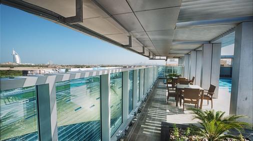 阿爾巴沙玫瑰公園飯店 - 杜拜 - 陽台