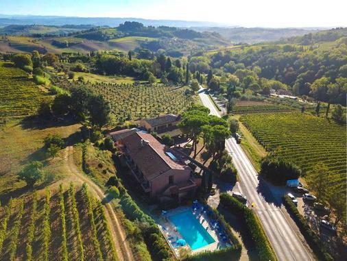Hotel Le Colline - San Gimignano - Näkymät ulkona