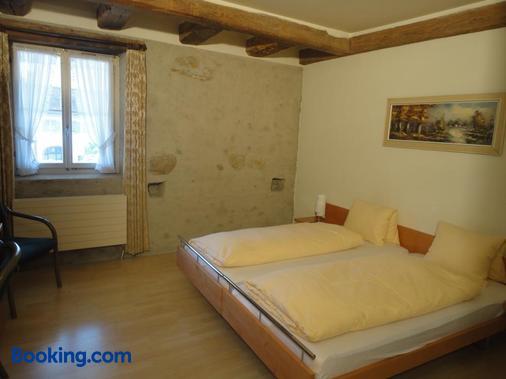 Landgasthaus Zum Hirschen - Gebenstorf - Bedroom